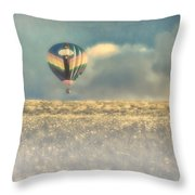 Clouds Within Clouds Throw Pillow