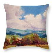 Cloudscape 2 Throw Pillow