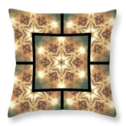 Cloudscape Fire Page Throw Pillow