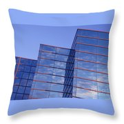 Cloudscape In Reverse Throw Pillow