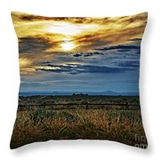 Cloudy Afternoon Throw Pillow