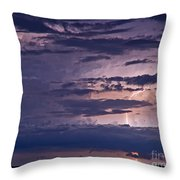 Cloudy Causeway Throw Pillow