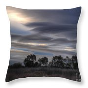 Cloudy Day 4 Throw Pillow