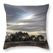 Cloudy Day 5 Throw Pillow