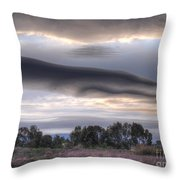Cloudy Day 6 Throw Pillow