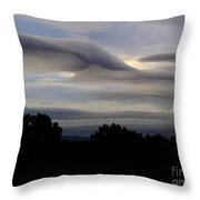 Cloudy Day 7 Throw Pillow