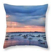 Cloudy Sunrise Throw Pillow