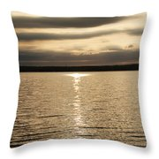 Cloudy Sunrise Throw Pillow
