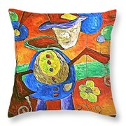 Clown 530-11-13 Marucii Throw Pillow