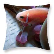 Clownfish 17 Throw Pillow