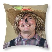 Clowning Around Throw Pillow