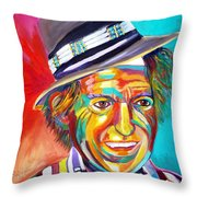 Clowning Throw Pillow