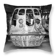 Clownship Throw Pillow