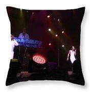 Club Nouveau Throw Pillow