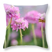 Cluster Throw Pillow by Fraida Gutovich
