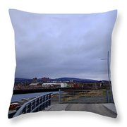 Clydebank Panorama Throw Pillow