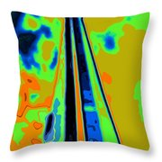 Cn Tower Abstract Throw Pillow