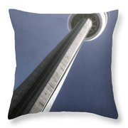 Cn Tower Throw Pillow by Joana Kruse