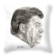 Coach Throw Pillow by Tamir Barkan