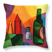 Coaches Beer Throw Pillow by William Killen