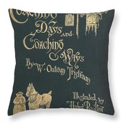 Coaching Days And Coaching Ways Throw Pillow