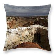 Coal Mine Mesa 08 Throw Pillow