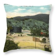 Coalinga Oil And Transportion Co. Pumping Station No. 2 Circa 1910 Throw Pillow