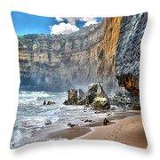 Coast 4 Throw Pillow