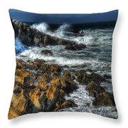 Coast 6 Throw Pillow