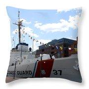 Coast Guard 37  Throw Pillow