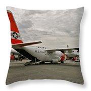 Coast Guard Alaska Throw Pillow
