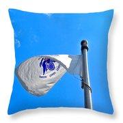 Coast Guard Flag Throw Pillow