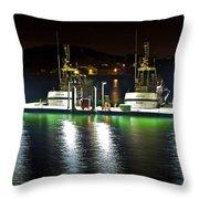 Coast Guard Fort Baker Throw Pillow