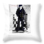 Coast Guard Sailor 1942 Throw Pillow