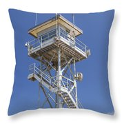 Coast Guard Tower Throw Pillow
