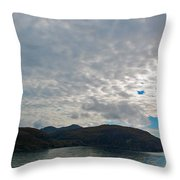 Coast N Clouds 1 Throw Pillow