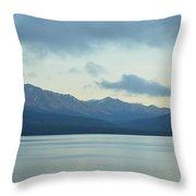 Coast Ranges In Alaska Throw Pillow