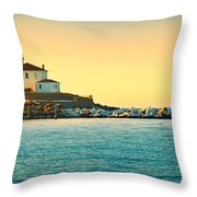 Coastal Cold Throw Pillow