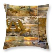 Coastal Connections Throw Pillow