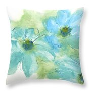 Coastal Cosmos 1 Throw Pillow