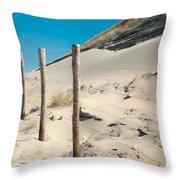 Coastal Dunes In Holland 2 Throw Pillow