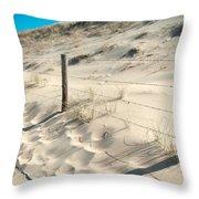 Coastal Dunes In Holland 3 Throw Pillow
