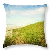 Coastal Dunes Throw Pillow