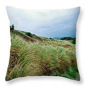Coastal Flora, Oregon Throw Pillow