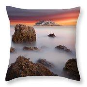 Coastal Glory Throw Pillow