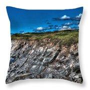 Coastal Nova Scotia Throw Pillow