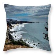 Coastal Retreat Throw Pillow