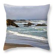 Coastal Serenity  Throw Pillow