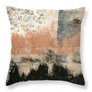 Coastal Solstice Throw Pillow