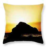 Coastal Sunset IIl Throw Pillow